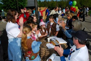 Brownie Troop Donation