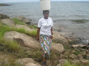 Charity Chinonge Lake Kariba